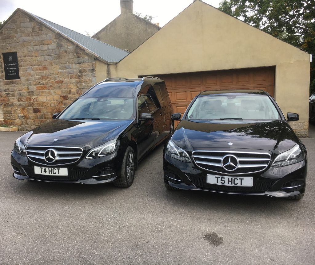 Mercedes Hearse and Limousine Funeral Cars