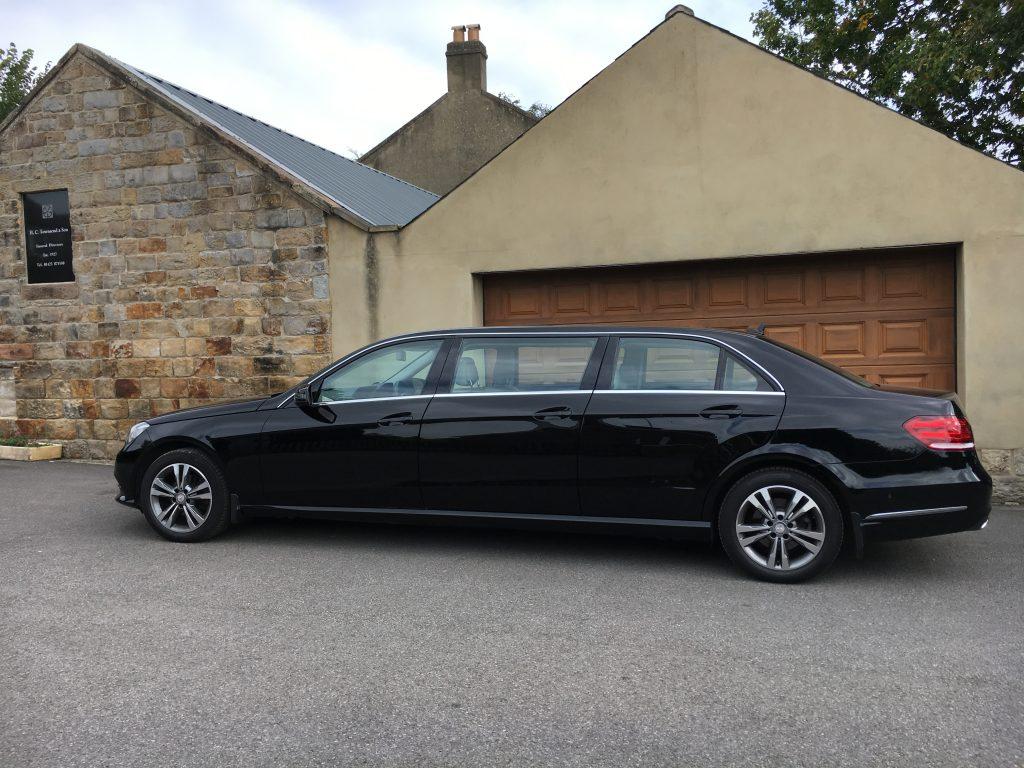 Mercedes Limousine Funeral Car