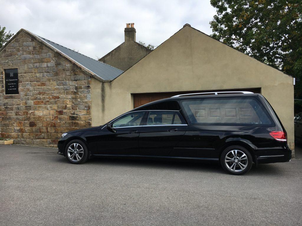 Mercedes Hearse Funeral Car