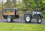 Tractor Hearse