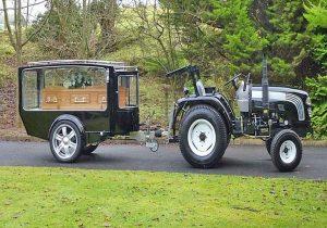 Tractor Hearse